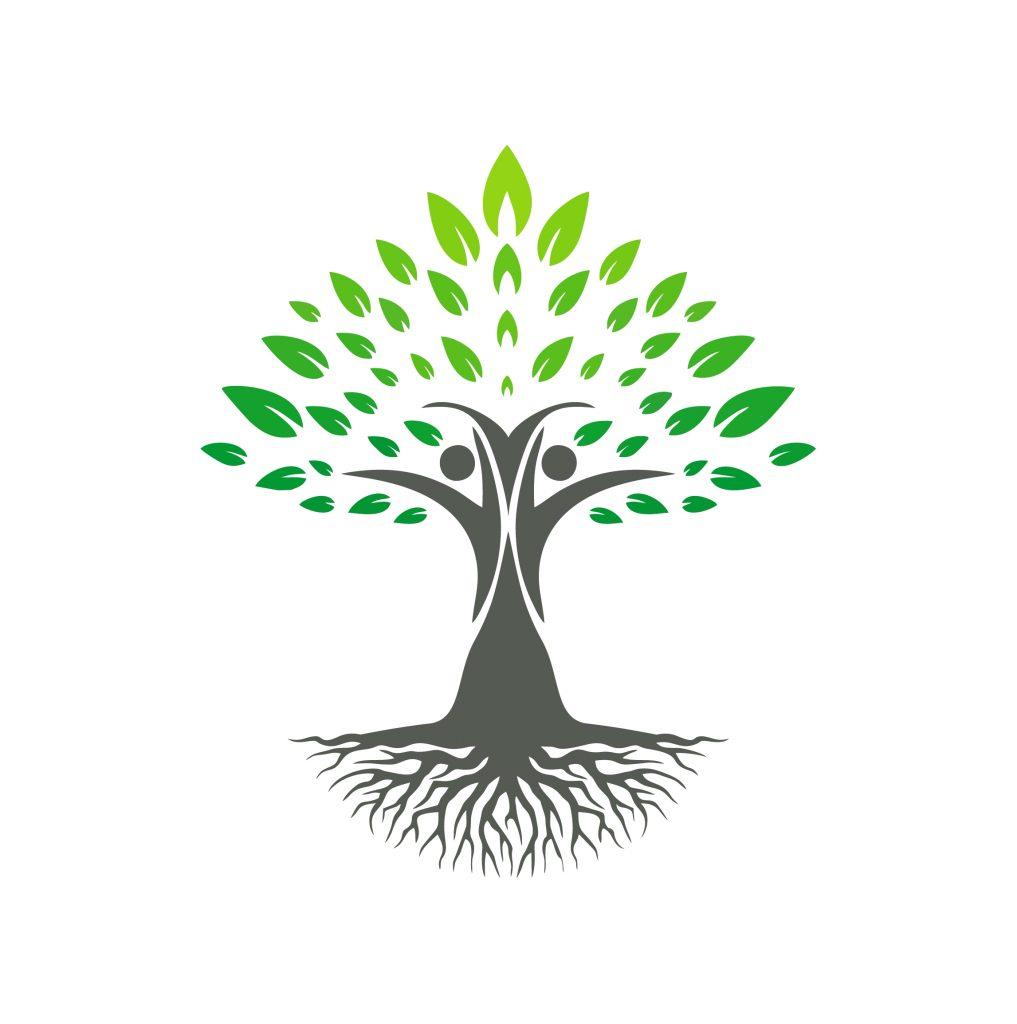 gen eco tree sketch environmental friendly