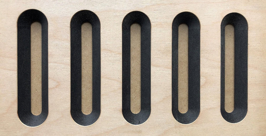 the use of black mdf for cabinetry, shopfitting and more