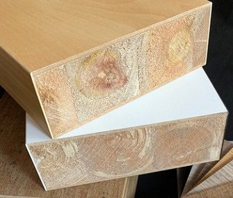 perfectly cut thick plywood