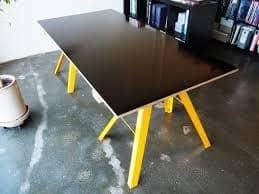 non structural film face as a table top