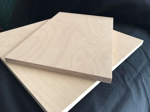 clear plywood layer thick